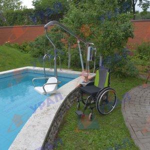 ИПБ-170 ЭП подъемник для бассейна