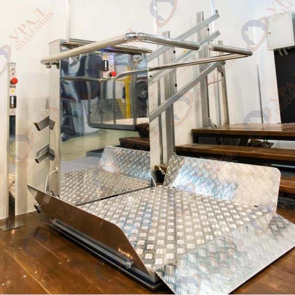 РПМ-02 Наклонный подъемник для инвалидов по ГОСТ (уличный/внутренний)