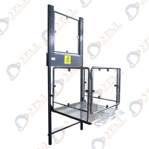 ПМ-03 с оргстеклом Вертикальный подъемник для инвалидов по ТУ